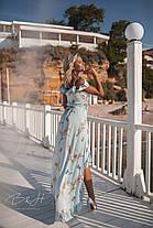 Длинное платье с глубоким декольте, фото 2