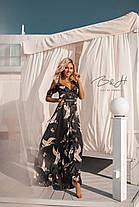 Длинное платье с глубоким декольте, фото 3