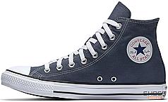 Мужские кеды Converse Chuck Taylor All Star Canvas High Top M9622C Navy, Конверс Ол Стар