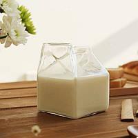 Стеклянный стакан для молока, фото 1