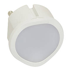 Нічник LED сутінковий білий