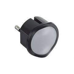 Нічник LED сутінковий чорний