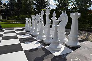 Гигантские фигуры. Отдельные шахматы. Стеклопластик.