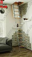 Лестница на чердак Lukki 90х60, 90х65, 90х70, 90х75, 90х80, 90х85, 90х90, 90х95