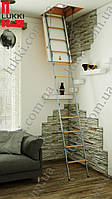Лестница на чердак Lukki 100х60, 100х65, 100х70, 100х75, 100х80, 100х85, 100х90, 100х95