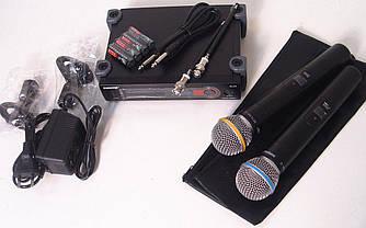 Радиосистема SH SLX4, база, 2 микрофона
