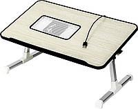 Столик для ноутбука раскладной Ergonomic Leptop Desk А8 черный