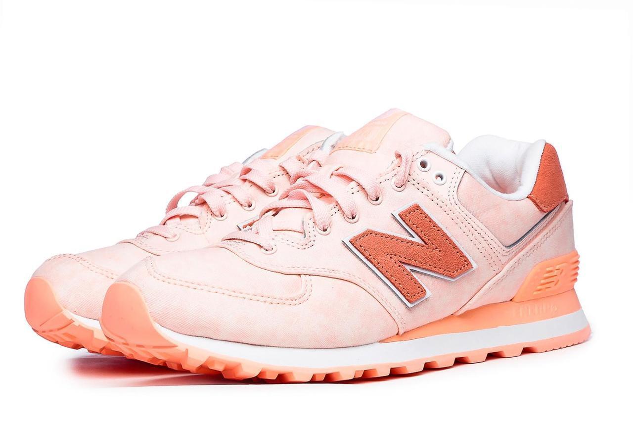sale retailer 8d625 9df0e Женские кроссовки New Balance WL574SWA Pink, Нью беланс 574 - Bigl.ua