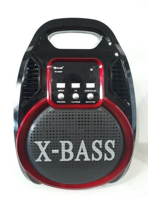 Колонка-комбик GOLON RX-820 BT с микрофоном караоке и ДУ пультом