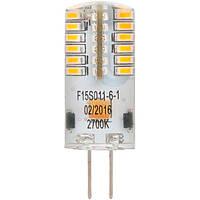 Лампа светодиодная Feron Optima LB-590 2 шт./уп. 3 Вт капсульная прозрачная G4 12 В 2700 К