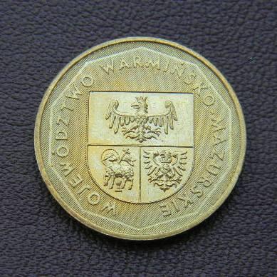 Польша 2 злотых 2005 Варминьско-Мазурское воеводство