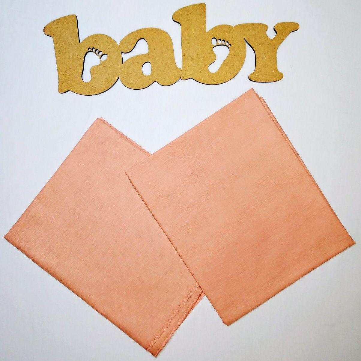 Хлопковая пеленка для новорожденных 90*110см    Бавовняна пелюшка для новонароджених 90*110см