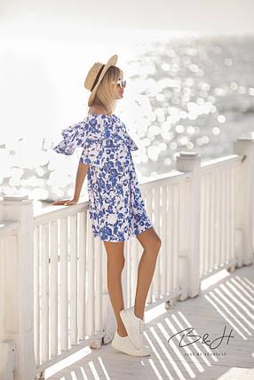 Современное платье из натуральной ткани, фото 2