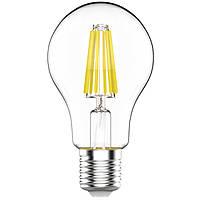 Лампа светодиодная Gauss LED Black FIL A60 12 Вт E27 4100 K Graphene 102802212