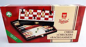 Нарды, шахматы и шашки в одном продукте