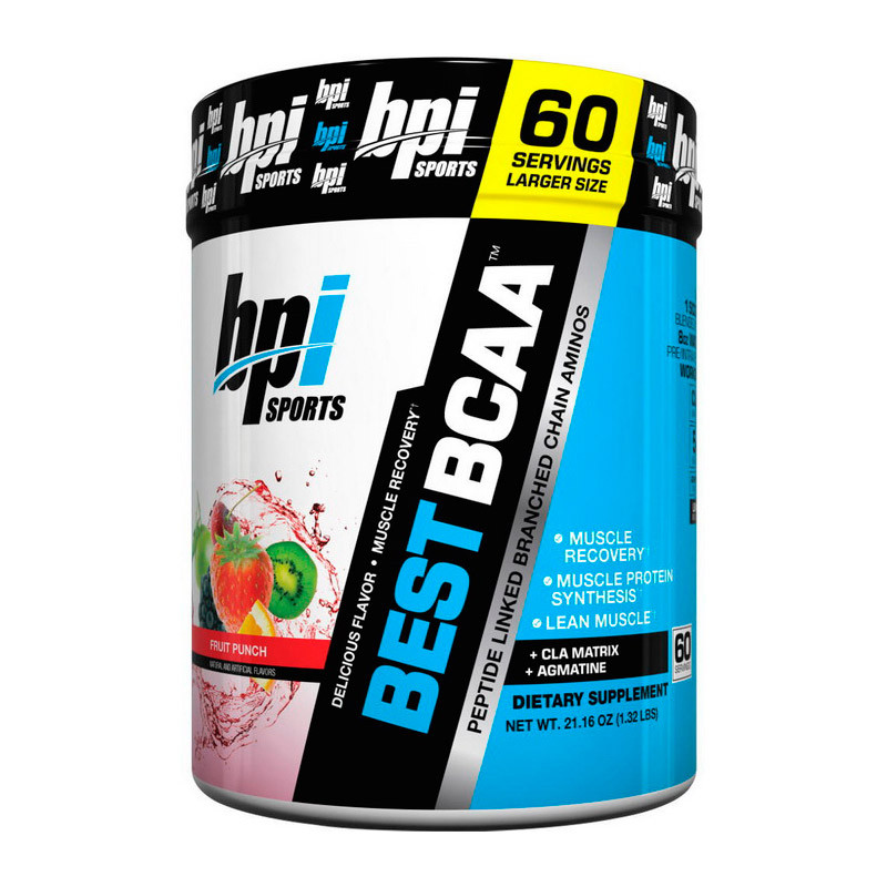 БЦАА BPI sports Best BCAA  (600 г) бпи спортс blue raspberry