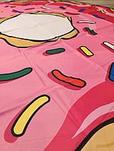 Пляжная Подстилка-Парео Розовый Пончик, фото 2