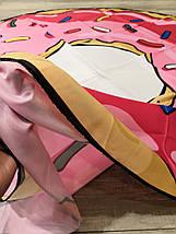 Пляжная Подстилка-Парео Розовый Пончик, фото 3