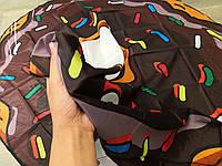 Пляжная Подстилка-Парео Шоколадный Пончик