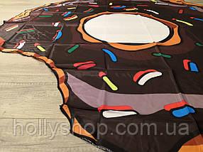 Пляжная Подстилка-Парео Шоколадный Пончик, фото 2
