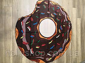 Пляжная Подстилка-Парео Шоколадный Пончик, фото 3