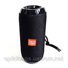 Вертикальная Bluetooth портативная колонка TG-117, 16см*6см, черная