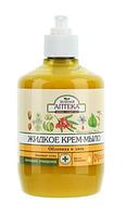 Жидкое мыло Зеленая Аптека 460г облипиха+липа с дозатором  (Лечебные травы)