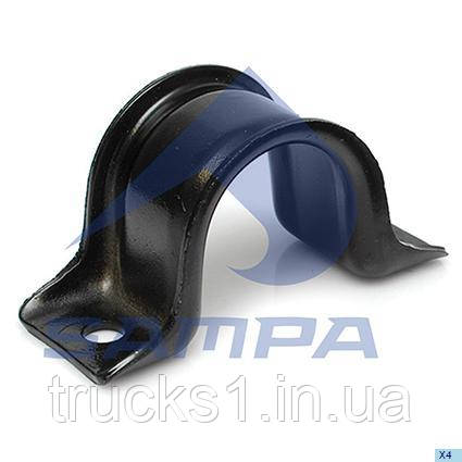 Скоба кріплення стабілізатора MB Sprinter 47x60/ø11x184 mm  200.483 (SAMPA)