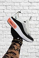 Мужские кроссовки Nike Air Max Dia белые с серым