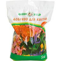 Удобрение универсальное для цветов Green Field 5 кг