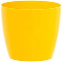 Горшок цветочный Lamela Магнолия 250 25х22 см желтый