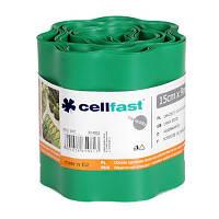 Ограждение для газонов Cellfast 15x900 см зеленое