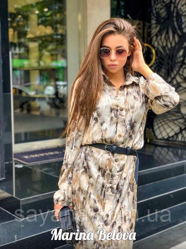женское платье-рубашка оптом