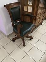 """Кресло для кабинета в коже  """"Оксфорд"""" (В НАЛИЧИИ)"""