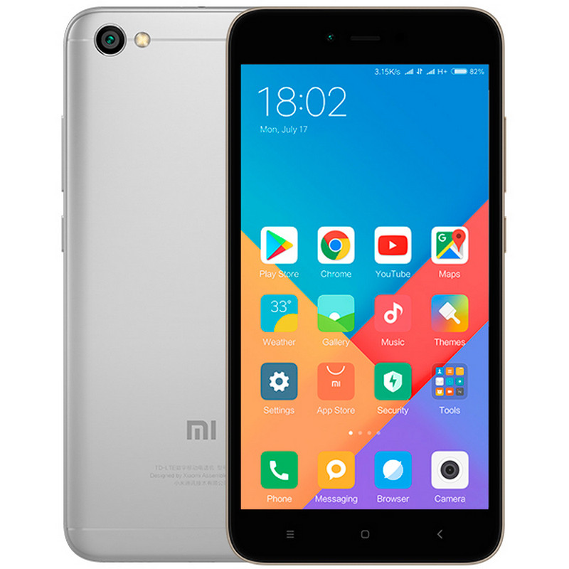 Смартфон Xiaomi Redmi Note 5A 4/64GB Gray