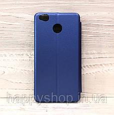 Чехол-книжка G-Case для Xiaomi Redmi 4x (Синий), фото 2