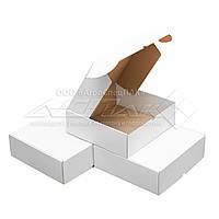 Картонные коробки самосборные 300х300х100, белые