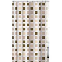 Шторка для ванны Vanstore Mosaic beige 180x200 см