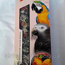 Лакомства LoLo PETS для птиц с фруктами, для крупных попугаев