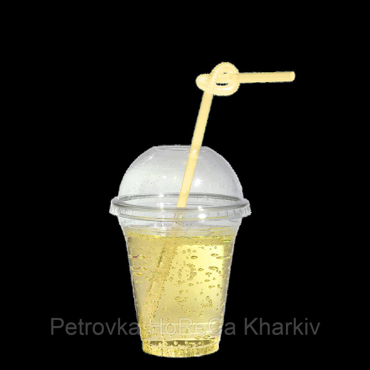 """Пластикові стакани під купольну кришку """"П"""" 200мл 50шт (без кришки)"""
