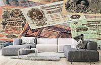 """Флизелиновые Фотообои """"Банкноты"""" от производителя за 1 день. Любая картинка и размер. ЭКО-обои"""