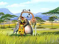 """Флизелиновые Фотообои """"Мадагаскар"""" от производителя за 1 день. Любая картинка и размер. ЭКО-обои"""