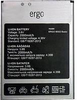 Аккумулятор Ergo B502. Батарея Ерго B502 (2000 mAh). Original АКБ (новая)