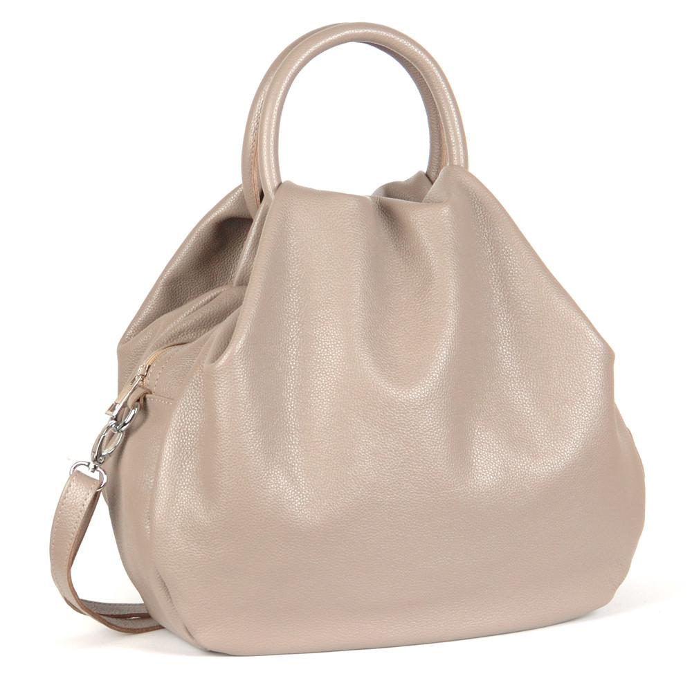 Женская кожаная сумка 31 капучино 01310109