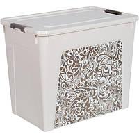 Контейнер для вещей Алеана Smart Box Home 40 л