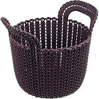 Корзина для вещей Curver Knit XS фиолетовая