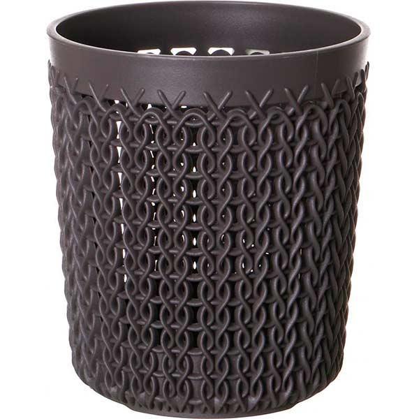Корзина Curver Knit 10x10x11 см темно-коричневая