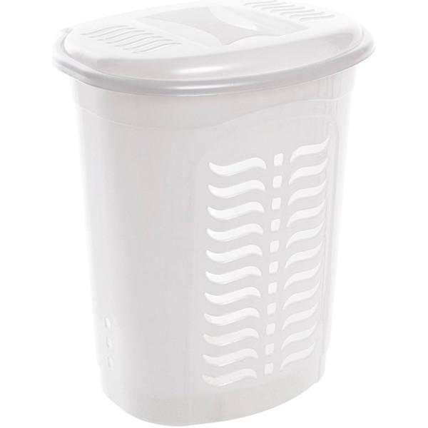 Корзина для белья Ал-Пластик 42 л белая