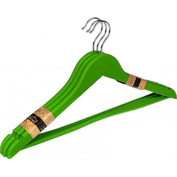 Набор вешалок Vivendi зеленые 45 см 3 шт