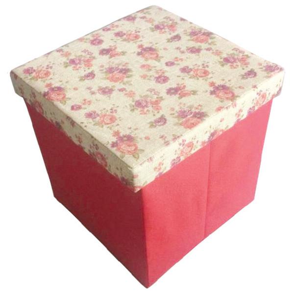 Короб складной Handy Home Цветы 40х40х40 см